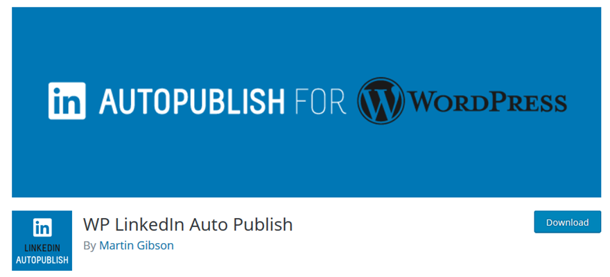 WordPress to LinkedIn