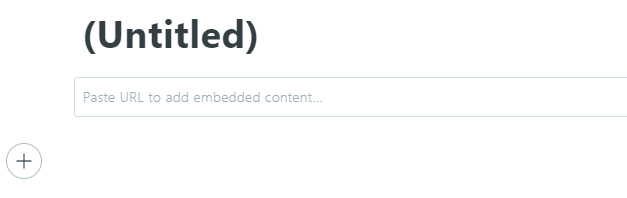 Adding embedded contents to your posts.