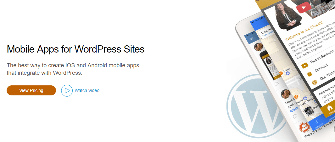 The AppPresser homepage.