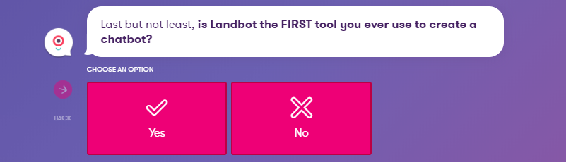 Creating your first Landbot.io with WordPress integration.