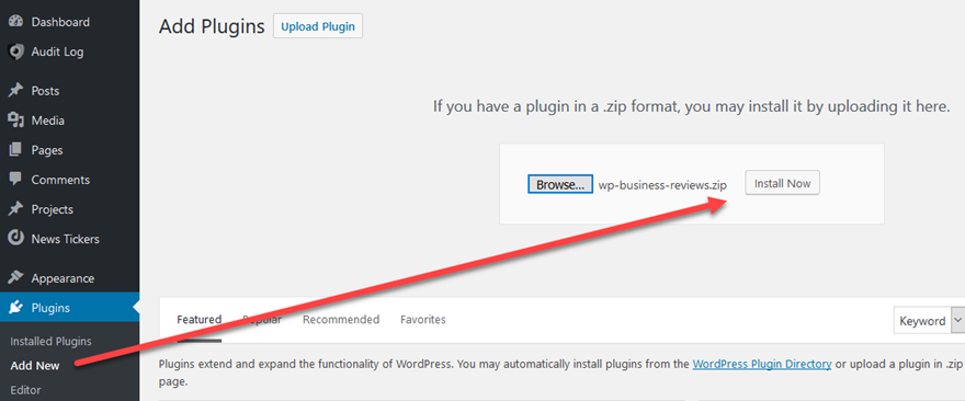 WP Business Reviews Plugin Overview