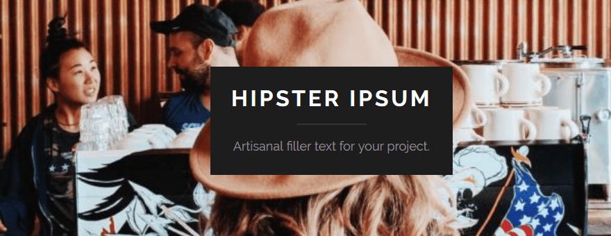 Lorem Ipsum Alternative
