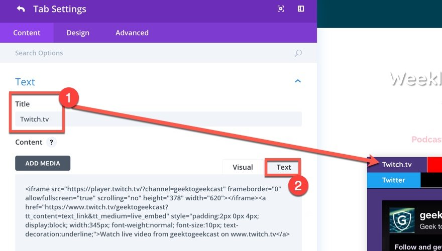 How to Embed Your Twitch Stream on WordPress | Elegant Themes Blog