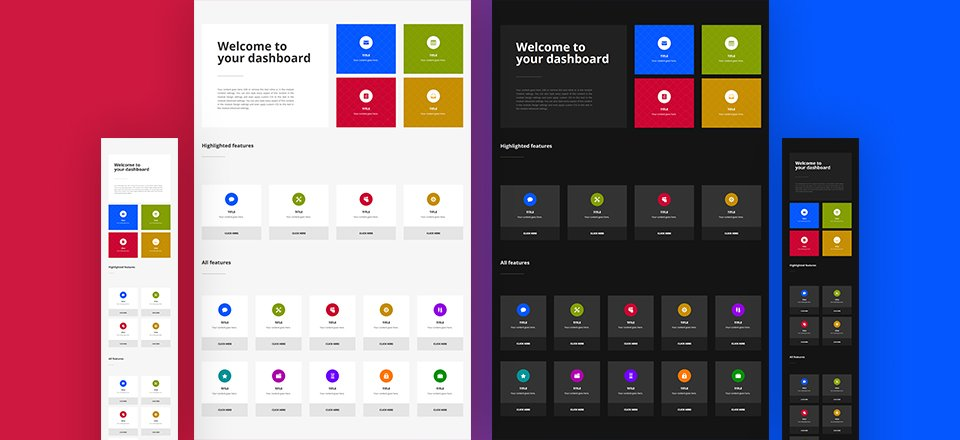 Creating a Striking Navigation Dashboard with Divi's New Column Structures