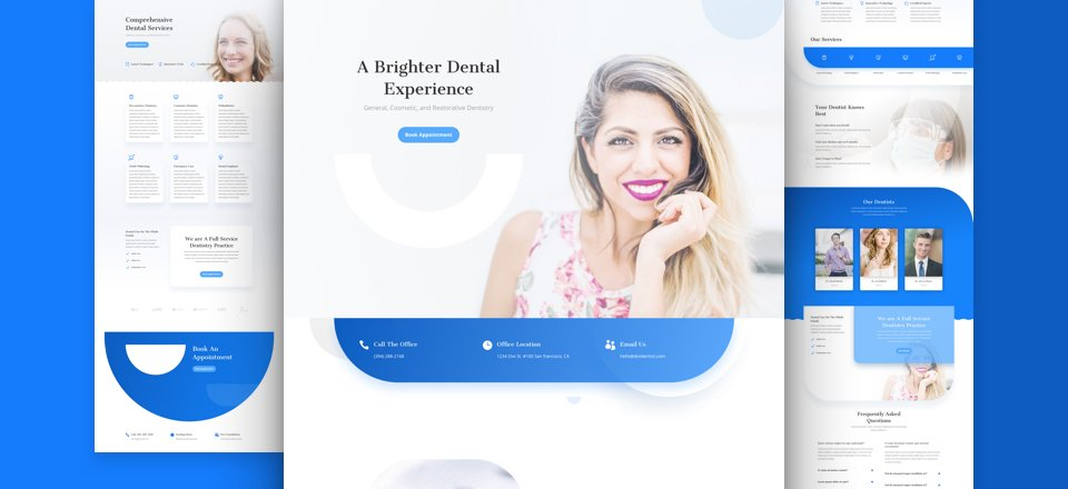 Get a FREE Dentist Layout Pack for Divi