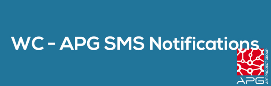 The WC - APG SMS Notifications plugin.