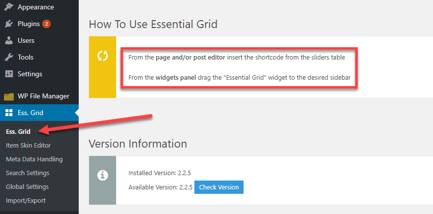 Essential Grid by ThemePunch Overview and Review