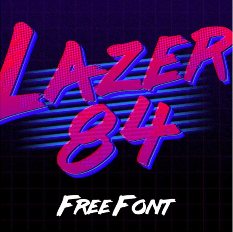 25 Rad 80s Fonts for Totally Righteous Websites   Elegant