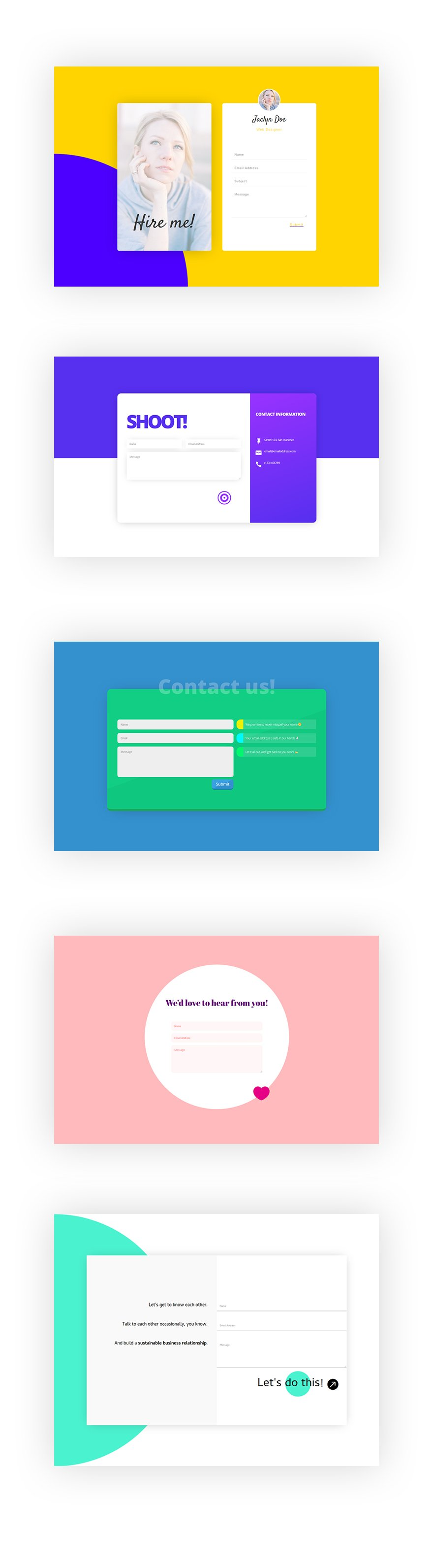 contact form module