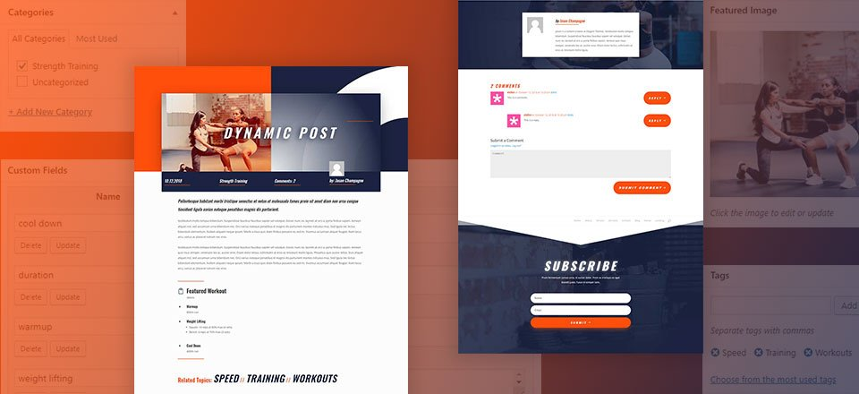 How to Use Divi's Dynamic Content Feature to Design a Dynamic Post Layout