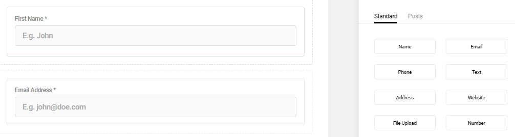 Adding a new field to your contact form.