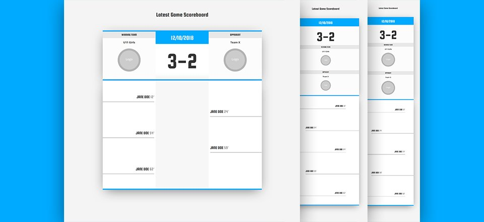 How to Create a Game Scoreboard with Divi's Soccer Club Layout Pack