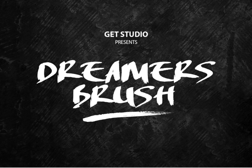 22 Brush Fonts to Add a Hand Painted Element to Your Design