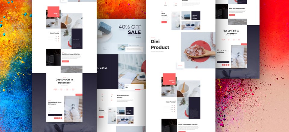 How to Design a Unique Featured Products Section with Divi & Our Exclusive Boutique Sale Landing Page