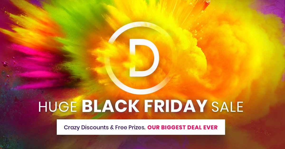 The Divi Black Friday Countdown!