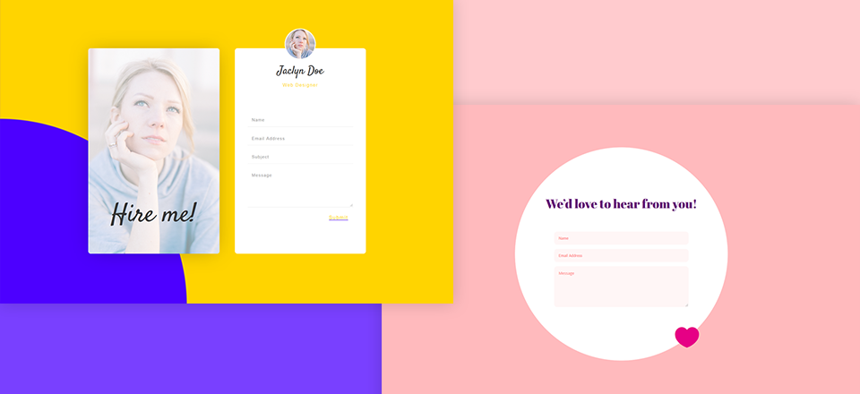 5 Unique Ways To Style Divi S Contact Form Module Elegant Themes Blog