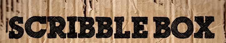 The Scribble Box font.