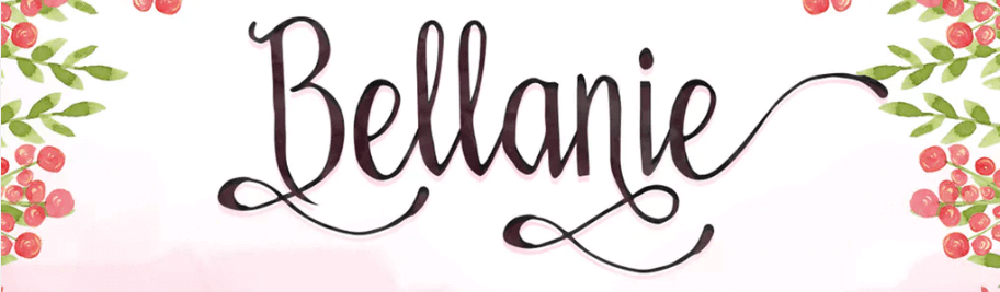 An example of the Ballanie font.