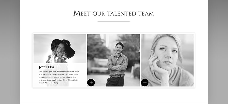 How To Add A Hover Effect To Team Member Bios In Divi | Elegant