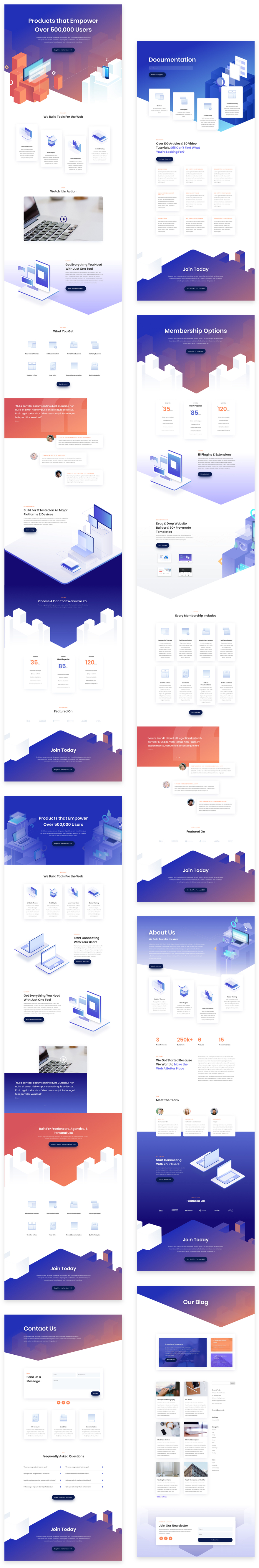 Get a FREE Digital Product Layout Pack for Divi