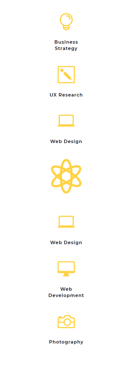 expanding hover effect