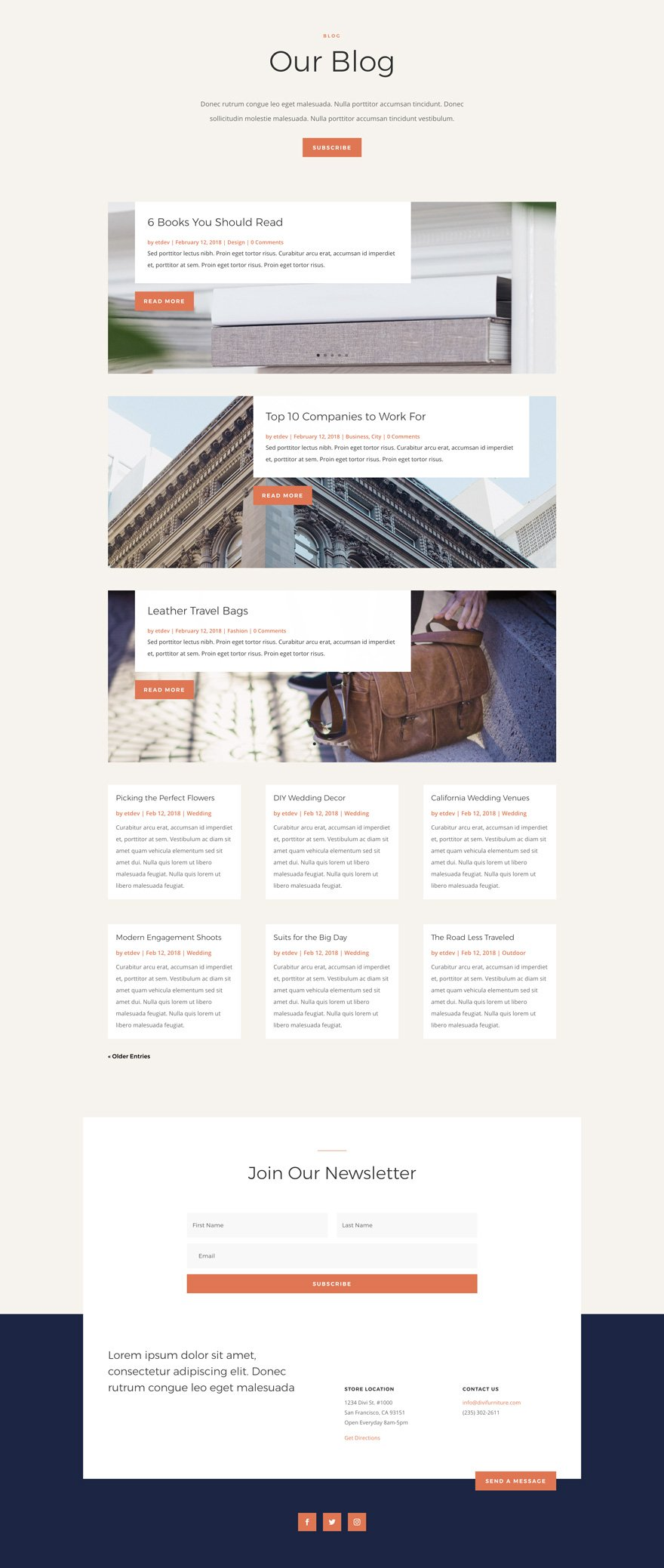 furniture store layout pack