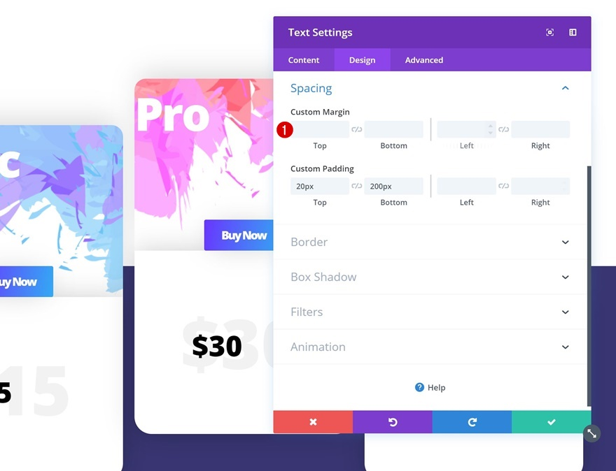 How to Style a Beautiful Pricing Table in Divi | Elegant