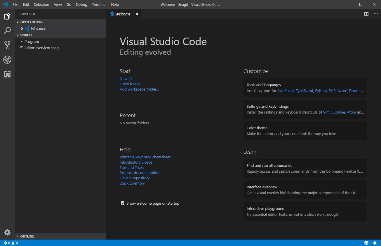 Visual Studio Code or VS Code
