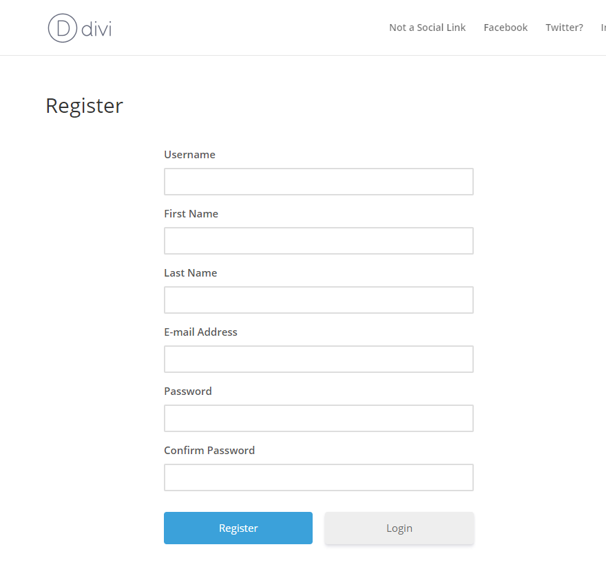 How to Create a Custom WordPress User Registration Page | Elegant
