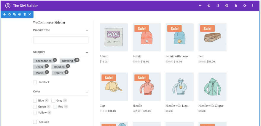 How to Create Filtered Sidebars for your Divi WooCommerce