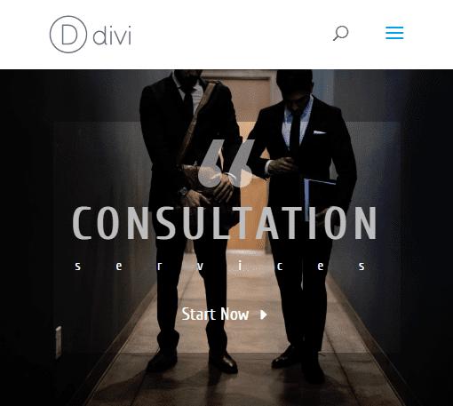 divi header module