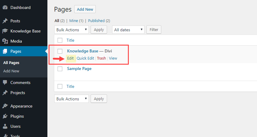 How to create a knowledge base for your website with divi - Divi popup module ...