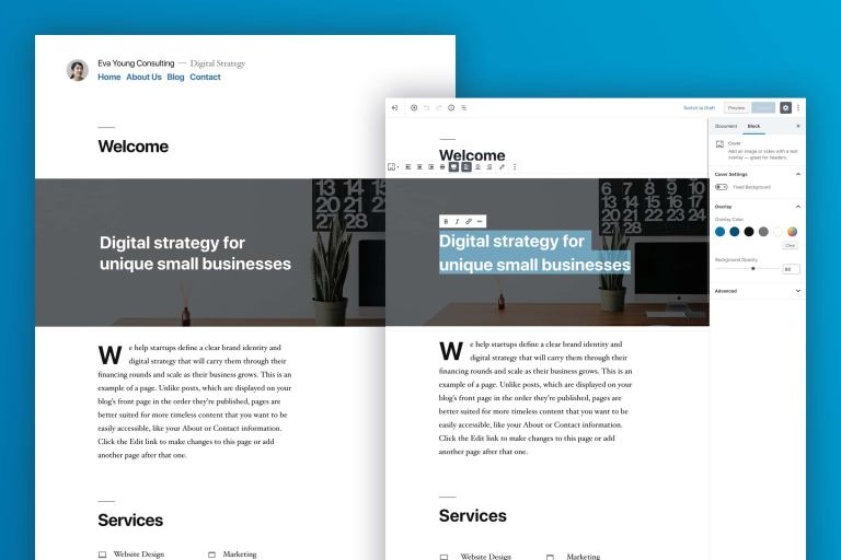 wordpress 5.0 overview