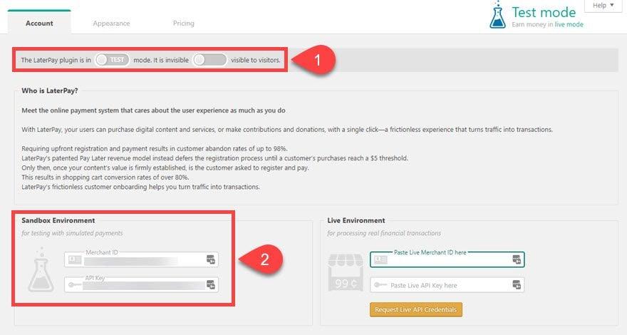 LaterPay WordPress Plugin