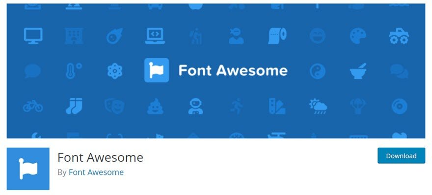 Font Awesome WordPress