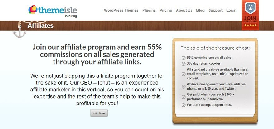 best WordPress affiliate programs