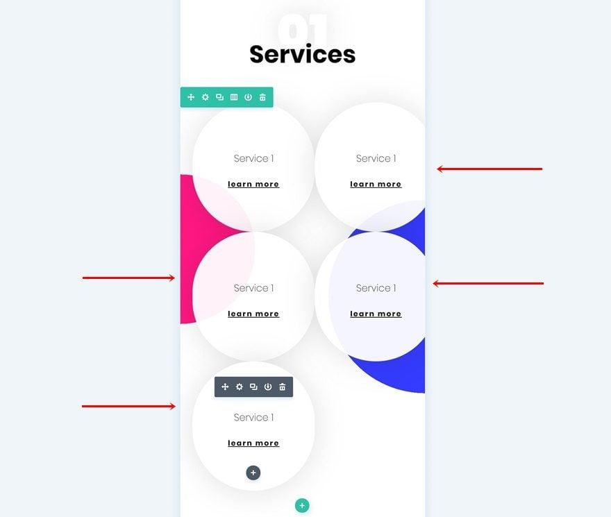 """serviços móveis  - cms9 - Layout Mobile para Menu """"Serviços"""" no seu site"""