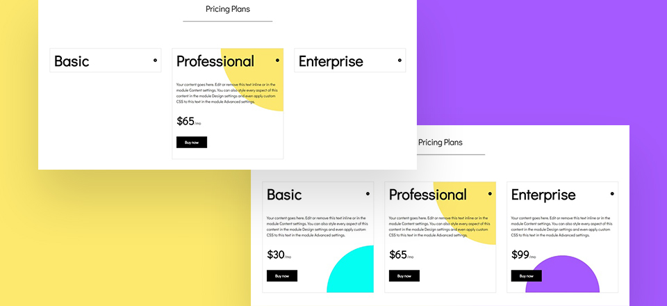 QnA VBage How to Creatively Use Divi's Toggle Module to Showcase Pricing Plans
