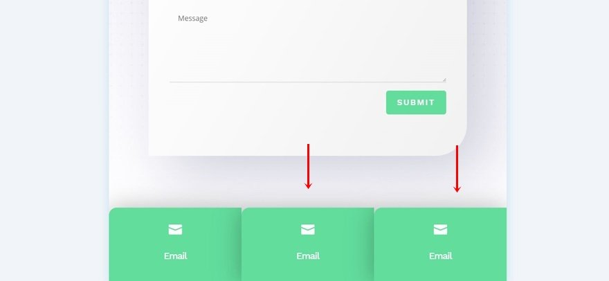 fixed mobile footer bar