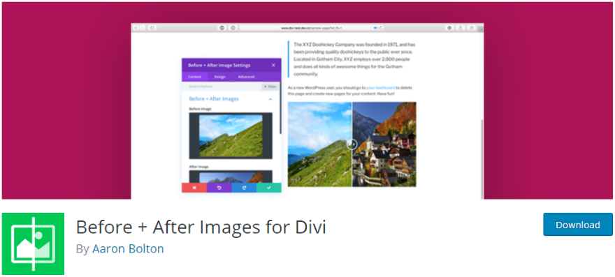 How to Show Before and After Images with Slider Effect in