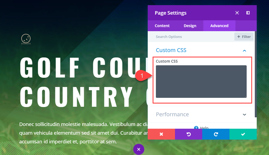 divi quick actions