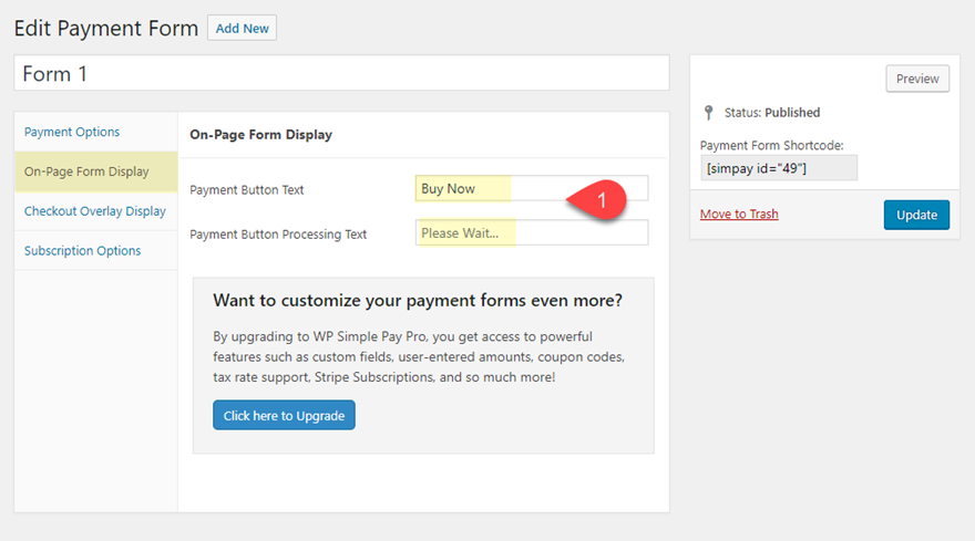 How to Add Simple Stripe Payment Buttons to Your Pricing