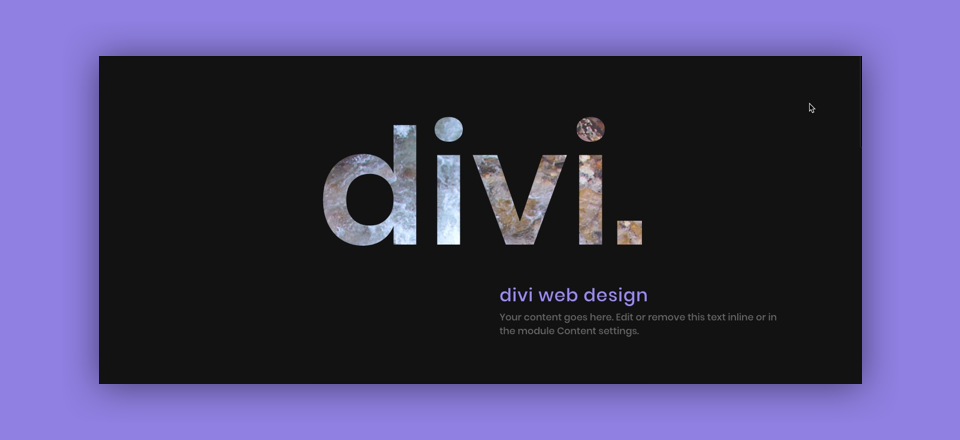 How to Create Knockout Text Images for Stunning Divi Headers