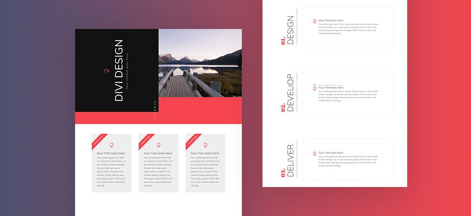 How to Rotate Text for Unique Layout Designs in Divi (Tutorial + FREE Layout Download)