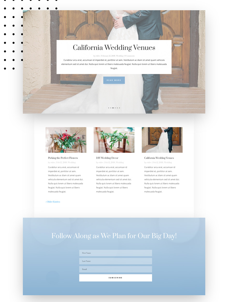 wedding engagement layout pack