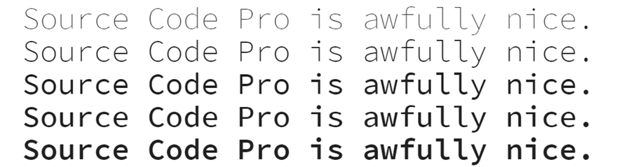 Best Programming Fonts