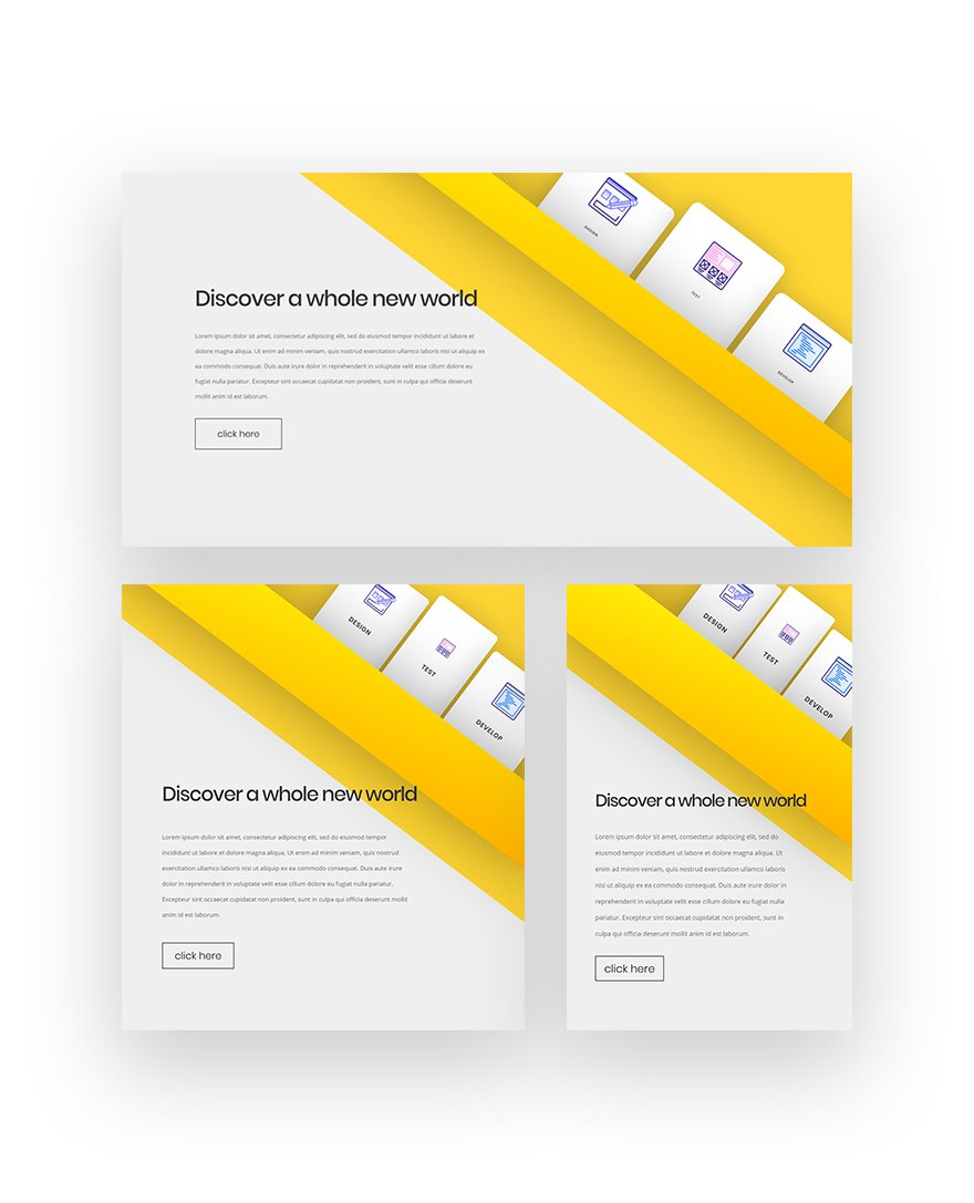 Creating a Diagonal Design Structure with Divi's Transform Options (Free Download!)