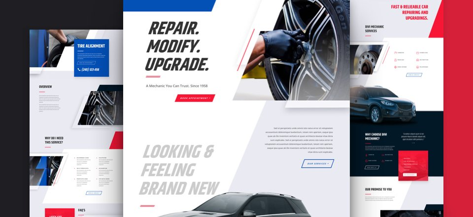 Get a FREE Mechanic Layout Pack