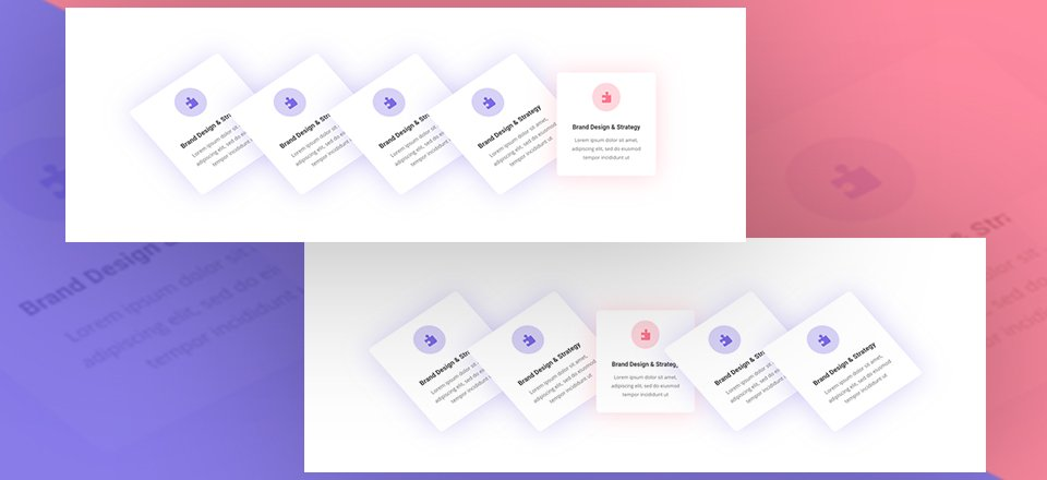 Creative Interactive Blurb Modules Using Divi's Transform & Hover Options