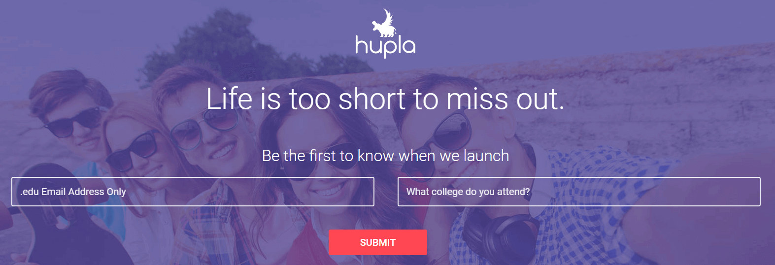 The Hupla website.